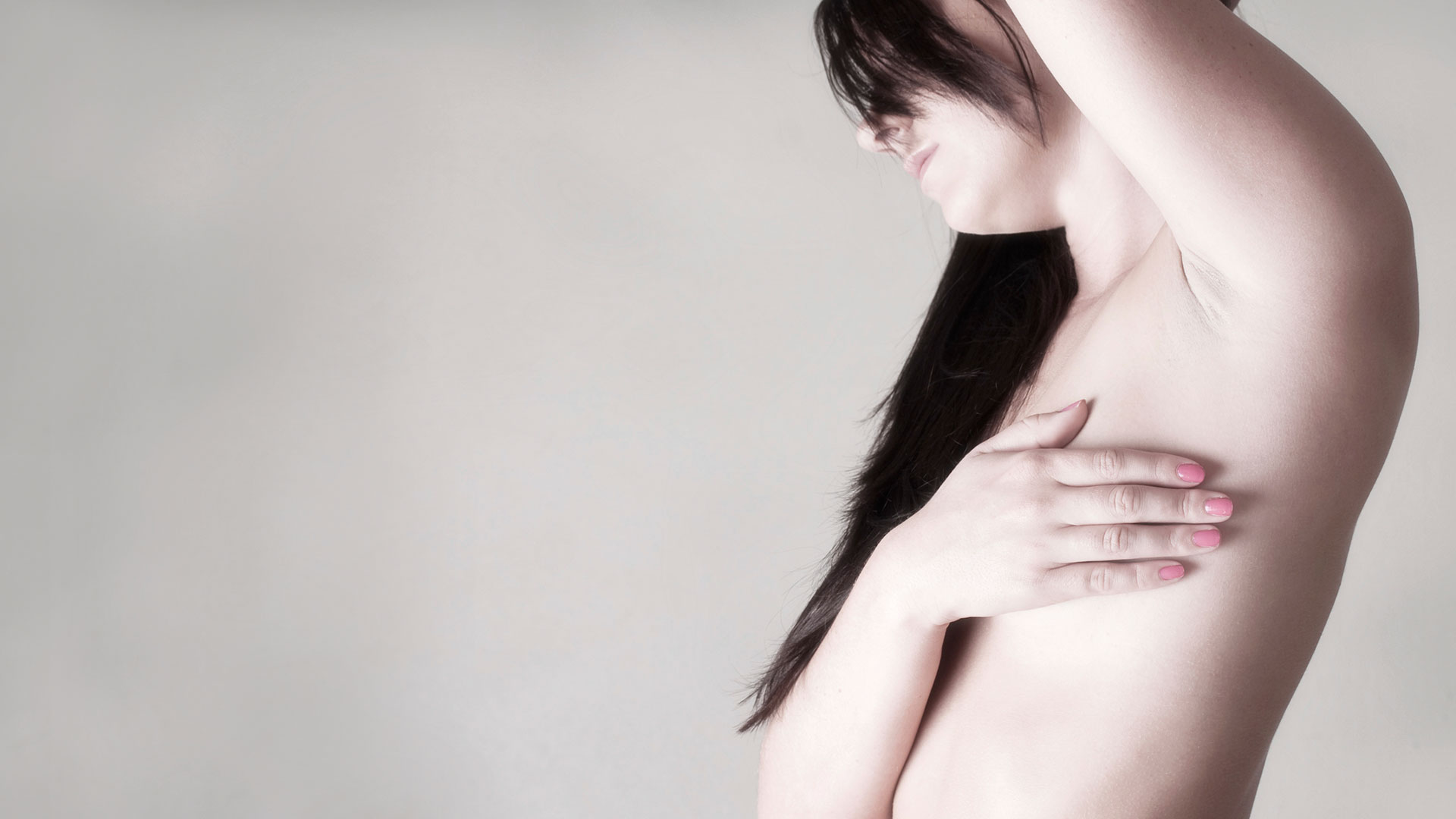 Breast cancer is more common in the left breast than the right
