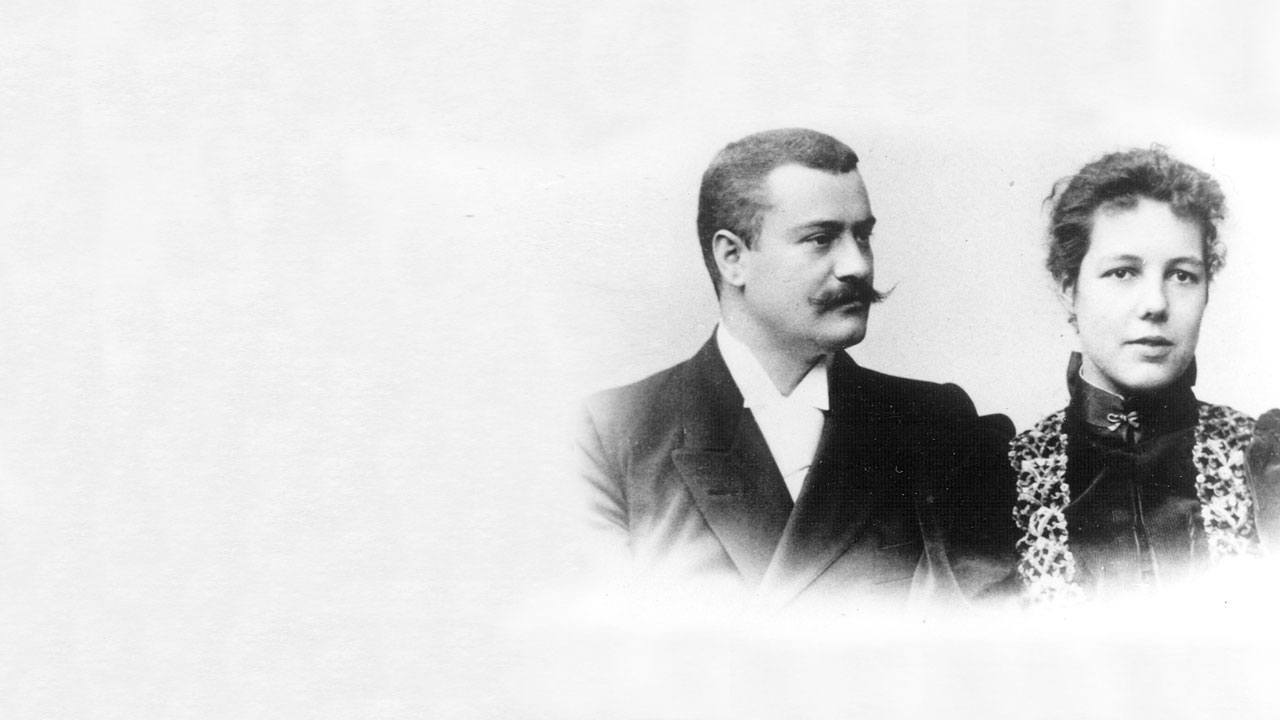 Fritz et Adèle Hoffman-La Roche