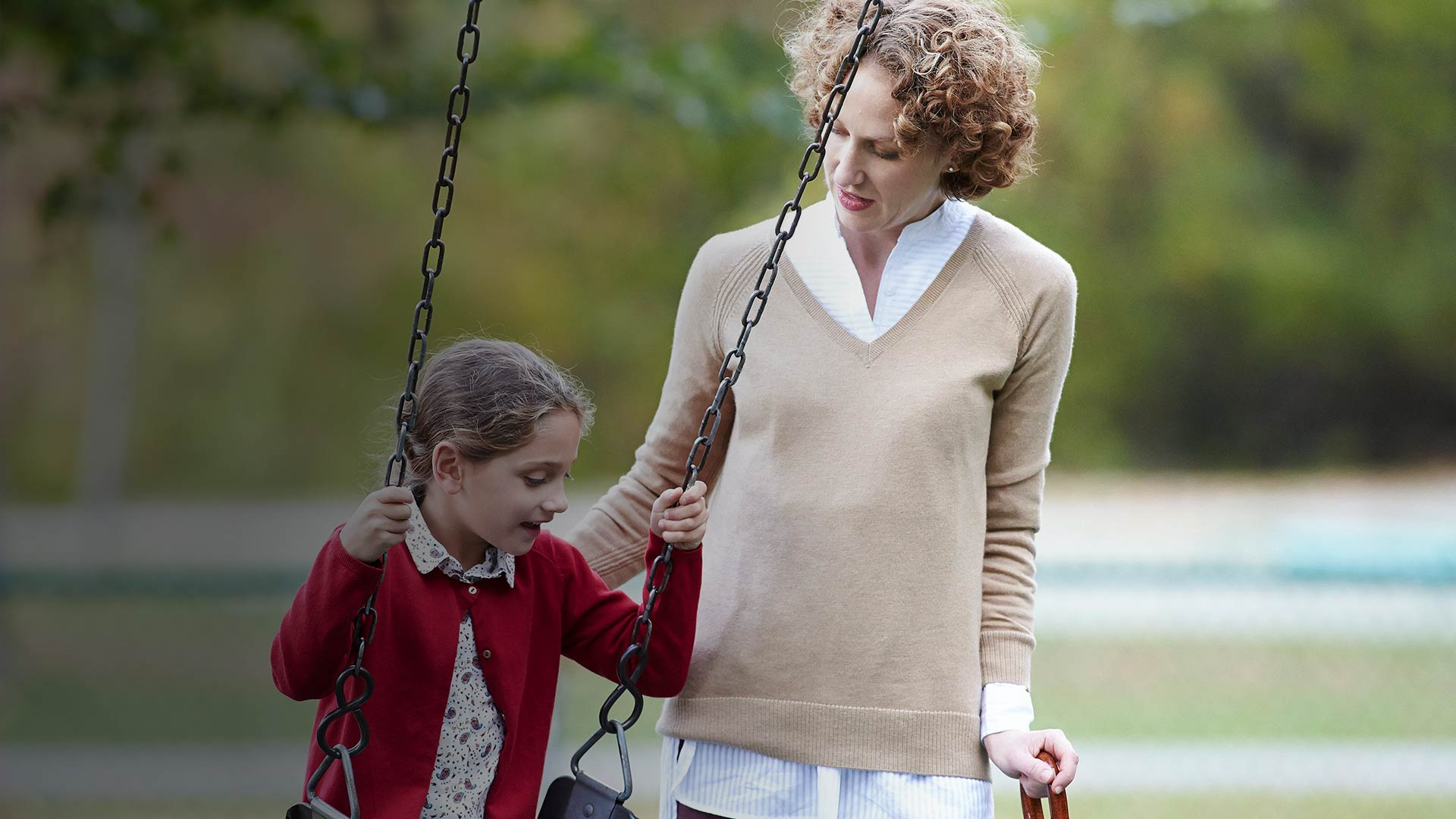 Illnesses that affect the brain can change the relationship between a mother and her daugher